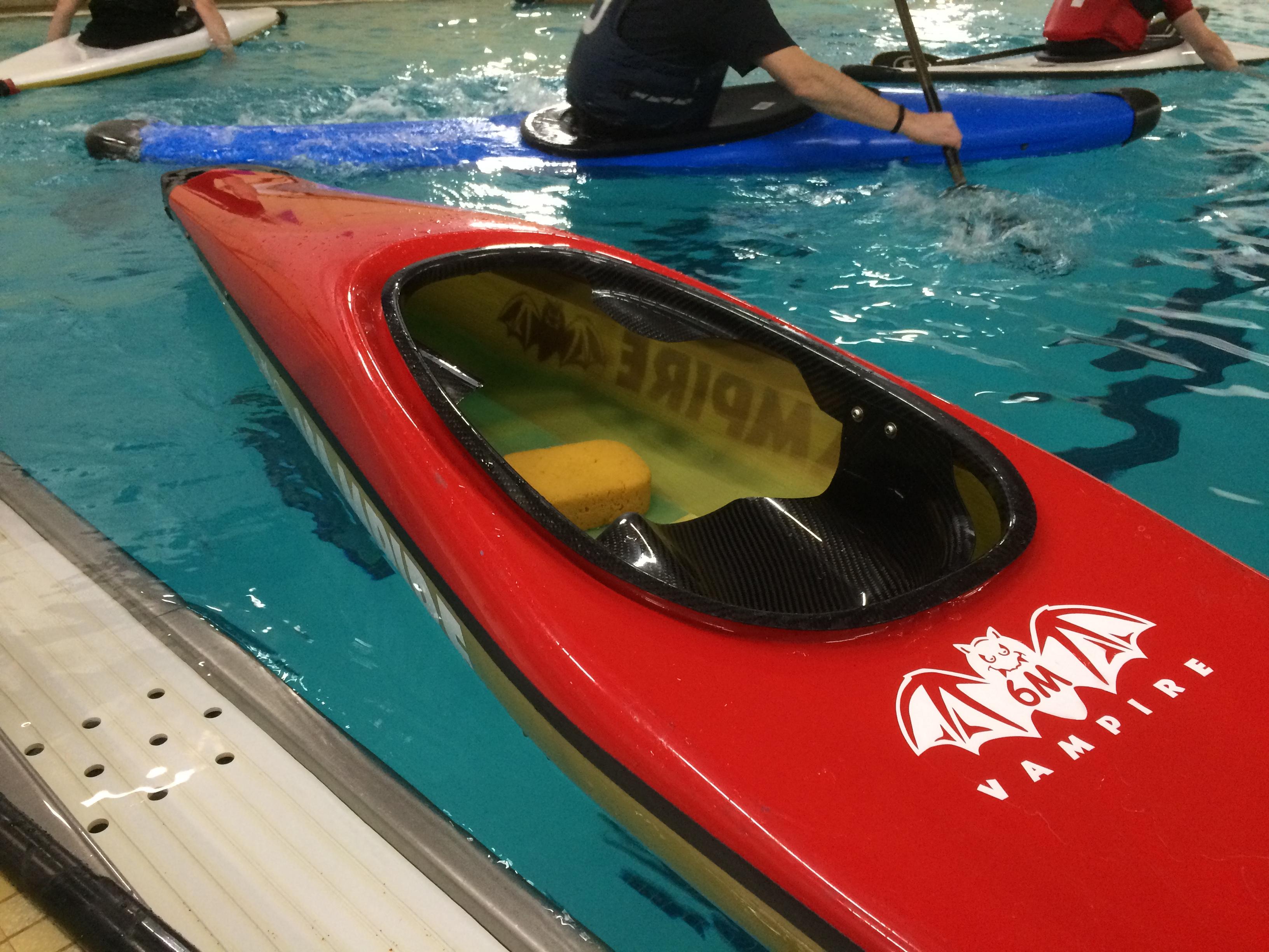 canoe polo boat